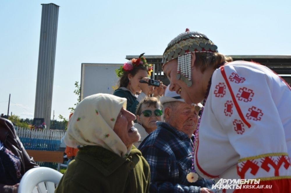 90-летняя представительница чувашского народа.