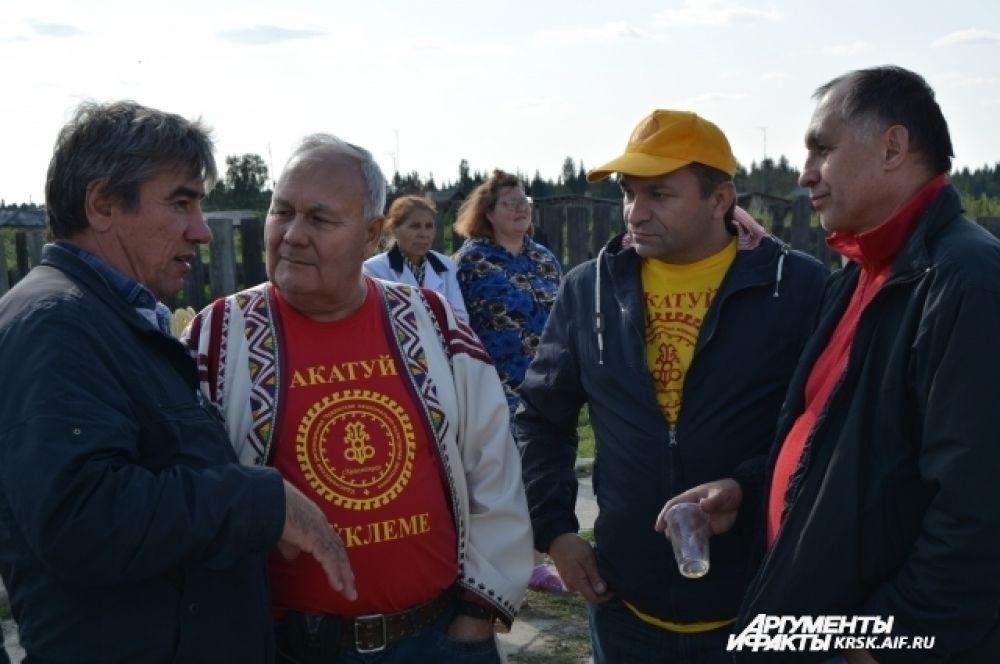 Праздник открыл президент чувашской автономии Геннадий Храмов.