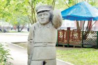 Памятник Ивану Семёнову в Перми.