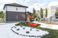 В «Умном доме» организована жилая среда с надлежащей температурой, качеством воздуха, условиями безопасности и защищённости, а также энергоэффективности и экологичности.