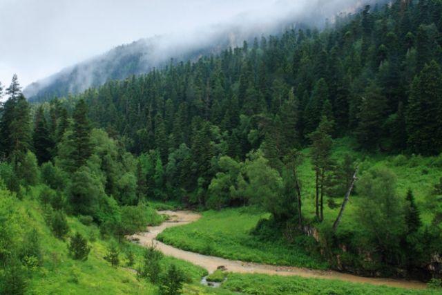 Красота родной земли
