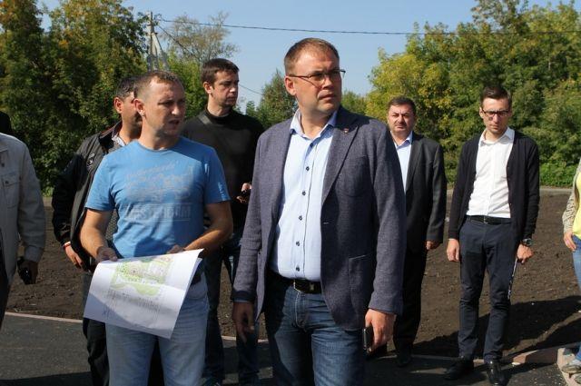Глава Кемерова не принял работы по благоустройству парка в Ягуновке.