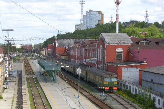Через станцию Пермь I проходят 34 маршрута электропоездов.