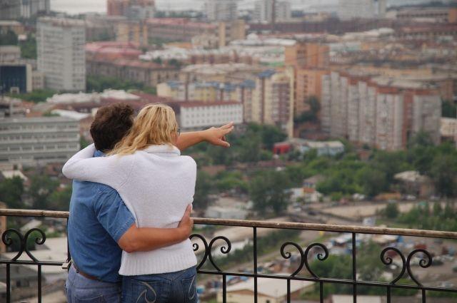 87% красноярцев довольны своей жизнью.