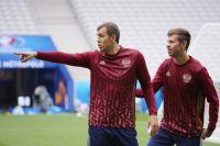 Артём Дзюба (слева) и Фёдор Смолов.