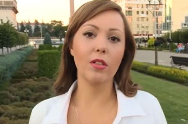 Анна Курбатова.