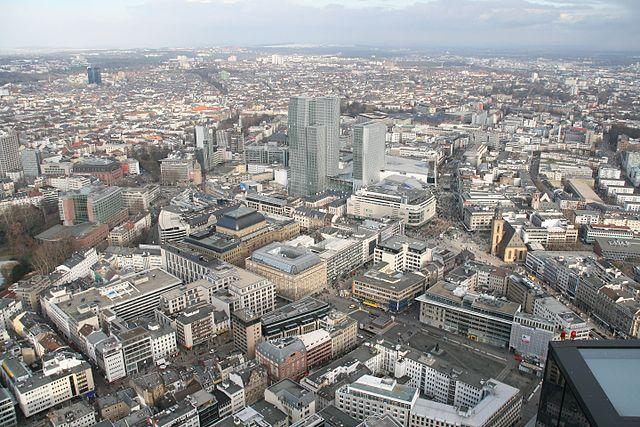 ВоФранкфурте эвакуируют 70 тыс. человек из-за бомбы военных времен