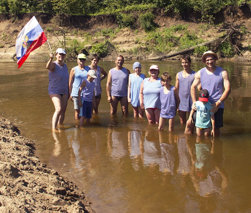 Накануне слёта несколько семей побывали в водном походе по Черемшану