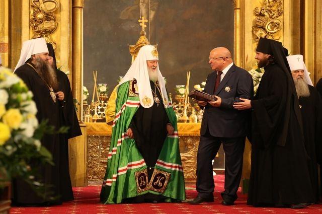 Патриарх Кирилл: В Нижегородской области возрождают старинные святыни, строят новые храмы