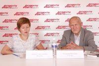 Юлия Янькова и Владимир Гонтарь.