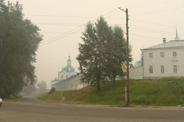 Старинный город Енисейск, через него пролегал путь Робинзона Крузо в Архангельск.