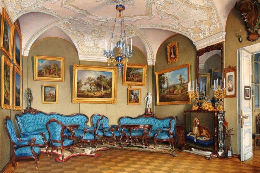 Гостинная императора Александра III