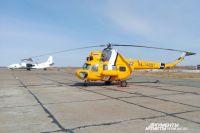 Расстояние от Большого Савино (там базируется вертолёт) до посёлка, где находился пациент, составляет 348 км - практически предельная дальность полета для Ми-2.
