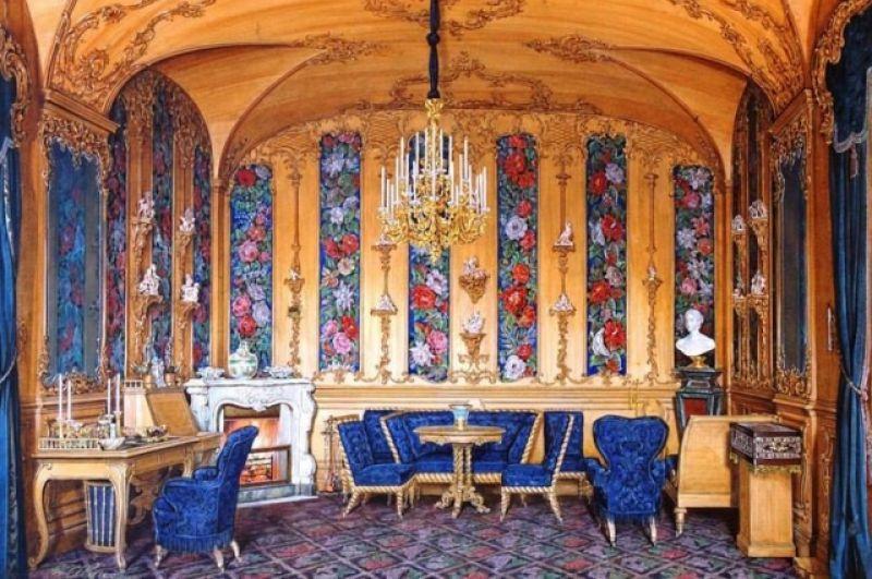 Дубовый кабинет императрицы Александры Федоровны