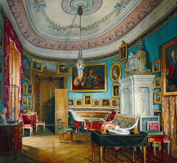Овальный кабинет императора Павла I