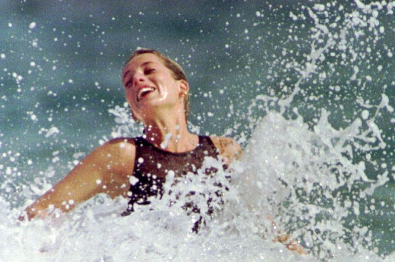 Диана на Карибском острове Сент-Китс, 1993 год.