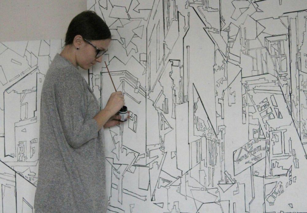 В основном Анна работает в технике масляной живописи на холсте, но и от экспериментов не отказывается.