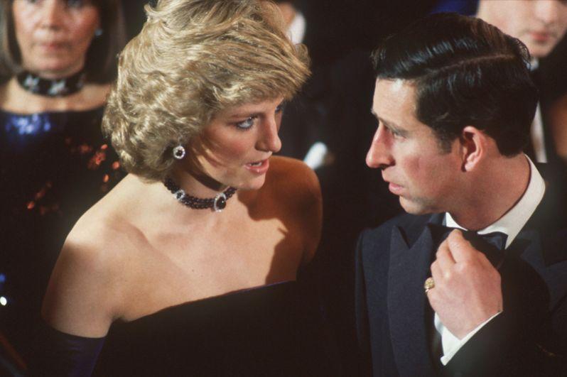 Принцесса Диана и принц Чарльз в Мюнхене, 4 ноября 1987 года.