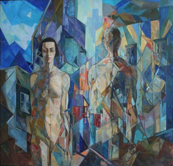 Анна Пляскина - пример активного современного художника.