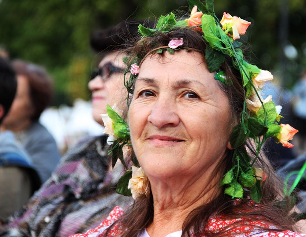 Поэтесса Любослава (в миру Тамара Грачева)