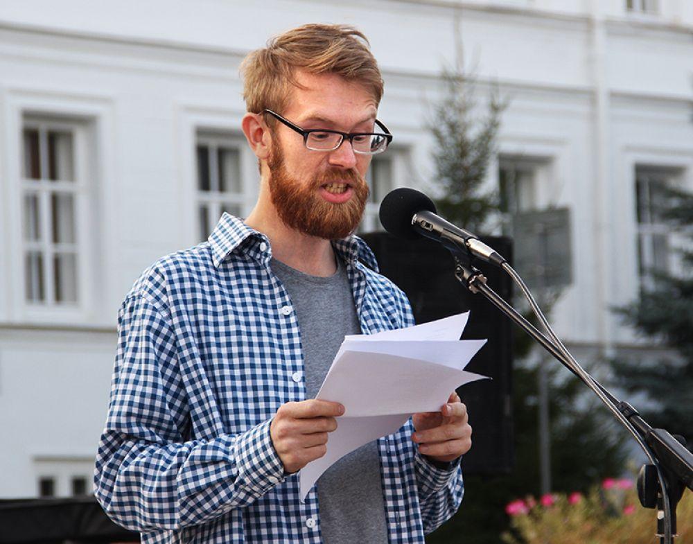 Ульяновский стихотворец Никита Ларин (в миру Данила Ноздряков)