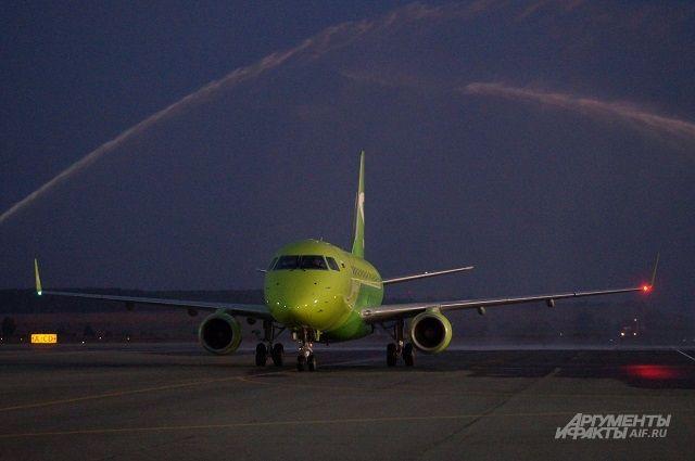Пензенский аэропорт принял новый рейс.