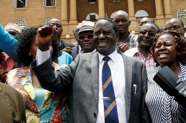 ВКении отменили результаты президентских выборов