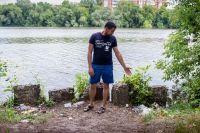 В волжских регионах далеко не все привыкли беречь чистоту реки.