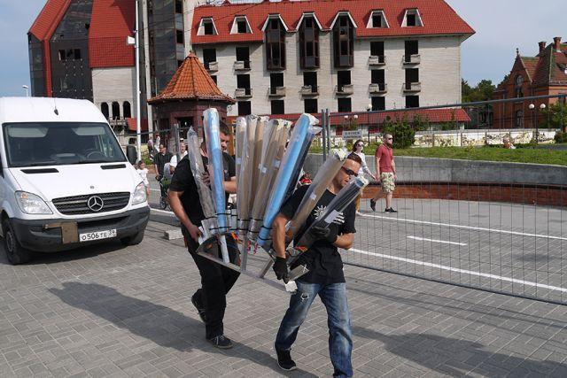 Дождь не повлияет на качество фестиваля фейерверков в Зеленоградске.