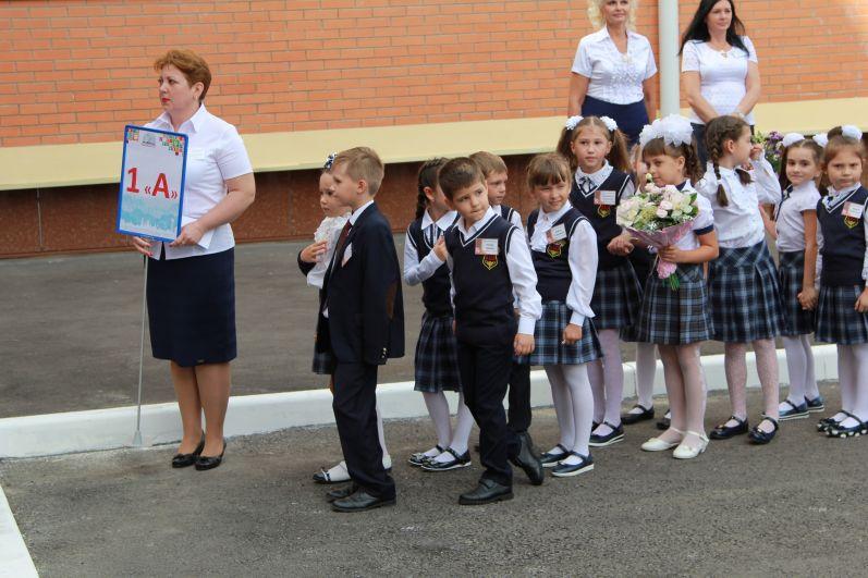 В школе №115 классы первоклашек распределились с названием от 1 А до 1 У.