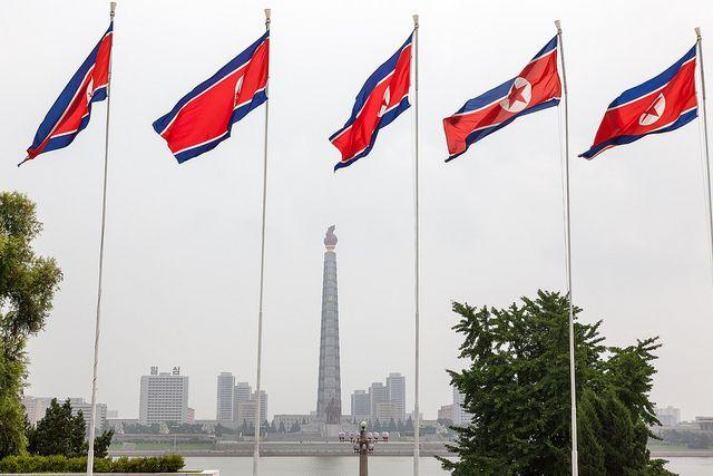 Размещено видео запуска баллистической ракеты КНДР