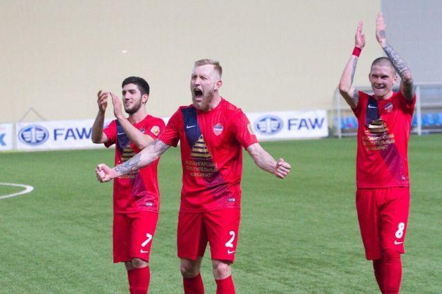 Красноярцы одержали победу со счётом 1:0.