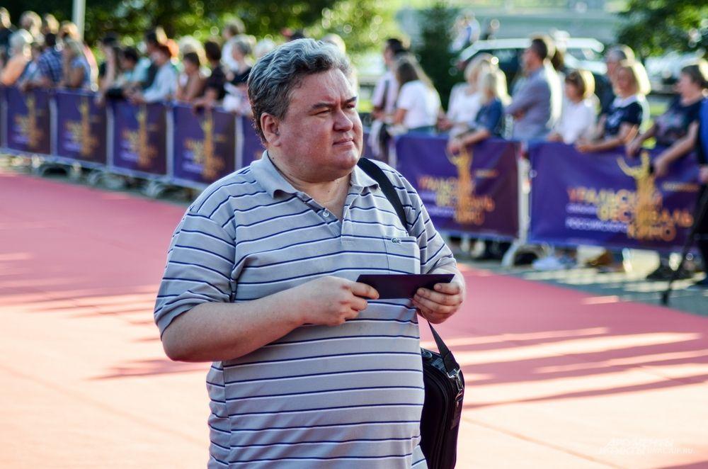 Кинокритик Андрей Кулик.