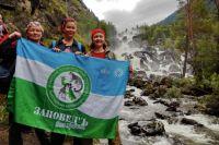Чтобы добраться до Учара, туристы преодолевают по горам 8,5 км.