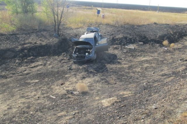 В Домбаровском районе в ДТП пострадал водитель Lifan Solano.