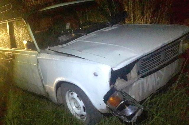 Автомобиль предполагаемого виновника ДТП.