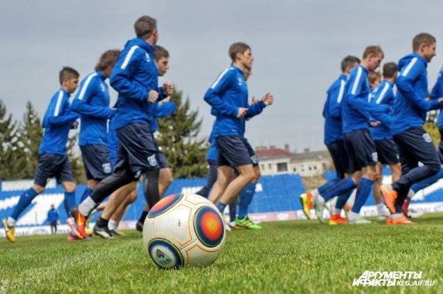 «Балтика» забила 5 мячей в матче с «Кубанью».