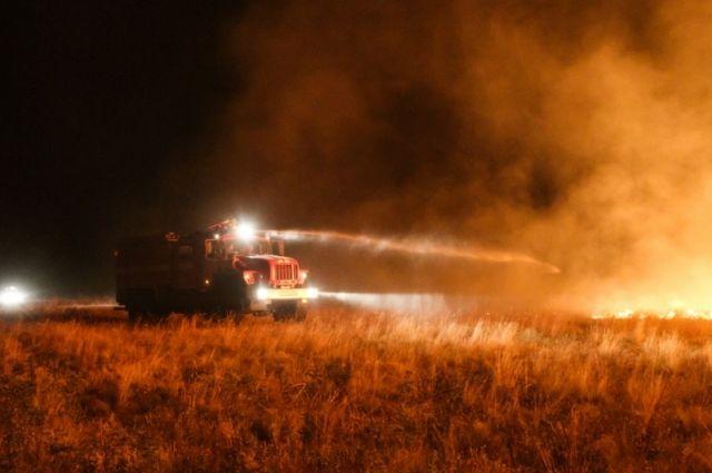 Вглобальной web-сети появился ролик с необычайными кадрами оволгоградских пожарах