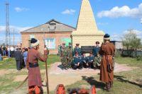 в селе Усть-Шиш Знаменского района появилась стела.
