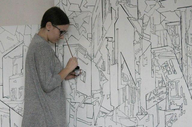 Работы девушки пока можно увидеть только в соцсеятх, но в будущем она планирует перенести их на холст и презентовать выставку авторских картин.
