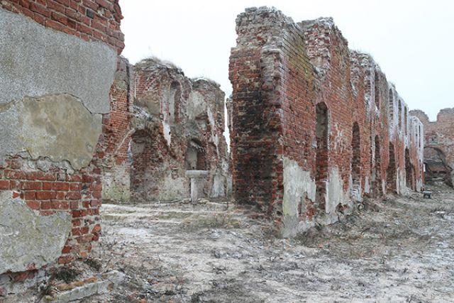 Под Калининградом восстановят разрушенный средневековый замок Бранденбург.