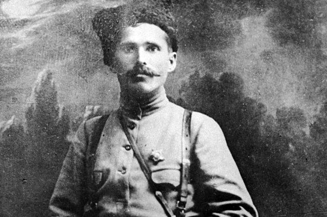 Василий Иванович Чапаев. 1918 год.