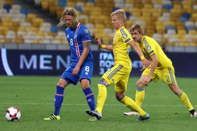 Матч Исландия-Украина