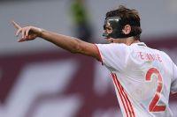 Игрок сборной России по футболу Марио Фернандес.