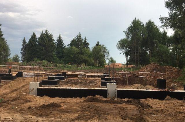 При строительстве выявлено множество нарушений.