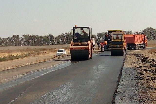 Окончен ремонт дороги в аэропорт Салехарда