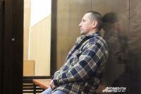Сергей Егоров в зале суда.