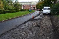 Глава Кемерова решил сохранить городской тротуар начала прошлого века.