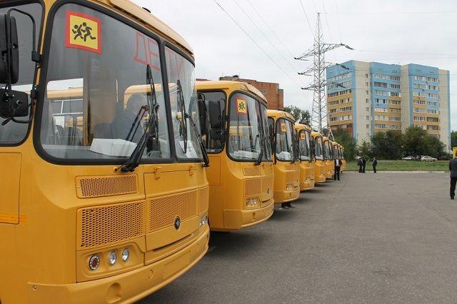 На сегодняшний день в области насчитывается 306 школьных автобусов, которые осуществляют перевозку более 7500 детей.