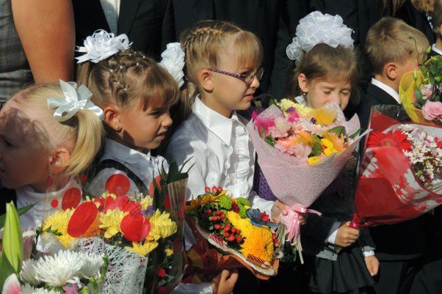 Акция «Дети вместо цветов» проходит в Омске в третий раз.